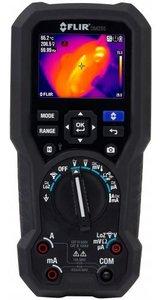 FLIR DM285: Un multimètre digital TRMS avec en standard 10 ans de garantie et une caméra thermique intégrée de 160x120 pixels! (modèle demo)